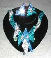 Deco Blast ballroom dance jewelry