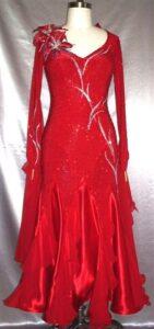 Burning Desire standard smooth Dress