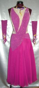 Gipsy Rose Custom Made Luxury Dance Dress