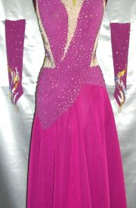Gipsy Rose Custom Made Luxury Dance Dress
