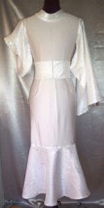 White Passion Kimono Standard Dress