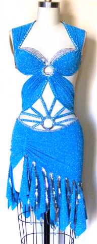 Living Waters latin dance competition dress