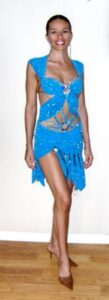 Living Waters latin dancecompetition dress