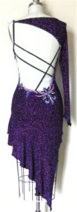Radiance Beauty latin and rhythm competition dress