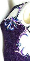 Radiance Beauty latin and rhythm competition dress with swarovski crystal embellishments
