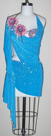 Romance dancesport latin dress by zhanna kens