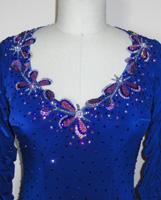 Star Lite latin dancecompetitiondress plus size