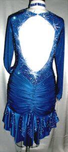 Starburst Latin Dance Dress by Zhanna Kens