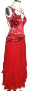 Sweet Valentine competition ballroom dress sale