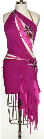 Unleashed Destiny custom made latin dress front