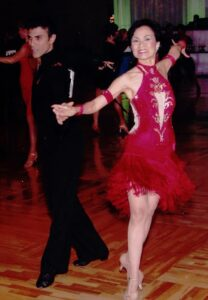 competition latin ballroom dress