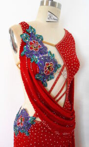 Standard Ballgown for Competition