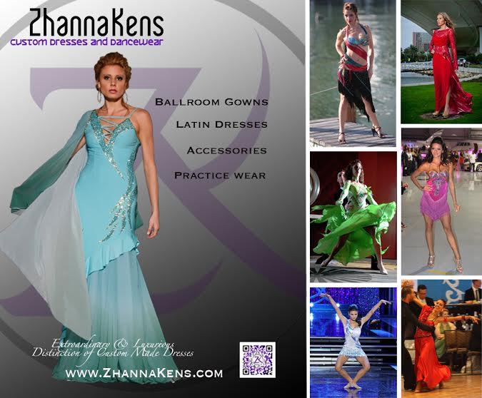 ballroom dresses by zhanna kens