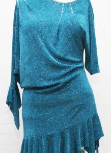 ballroom latin practice dress size 14
