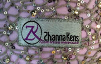 Zhanna Kens dress label
