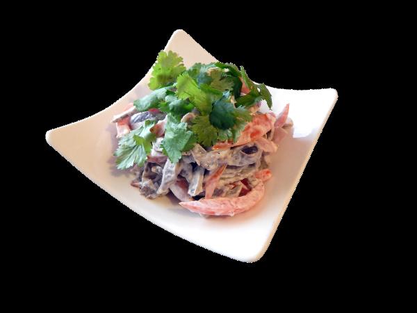 3 - tongue salad