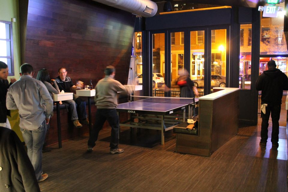 Ping-Pong-Action