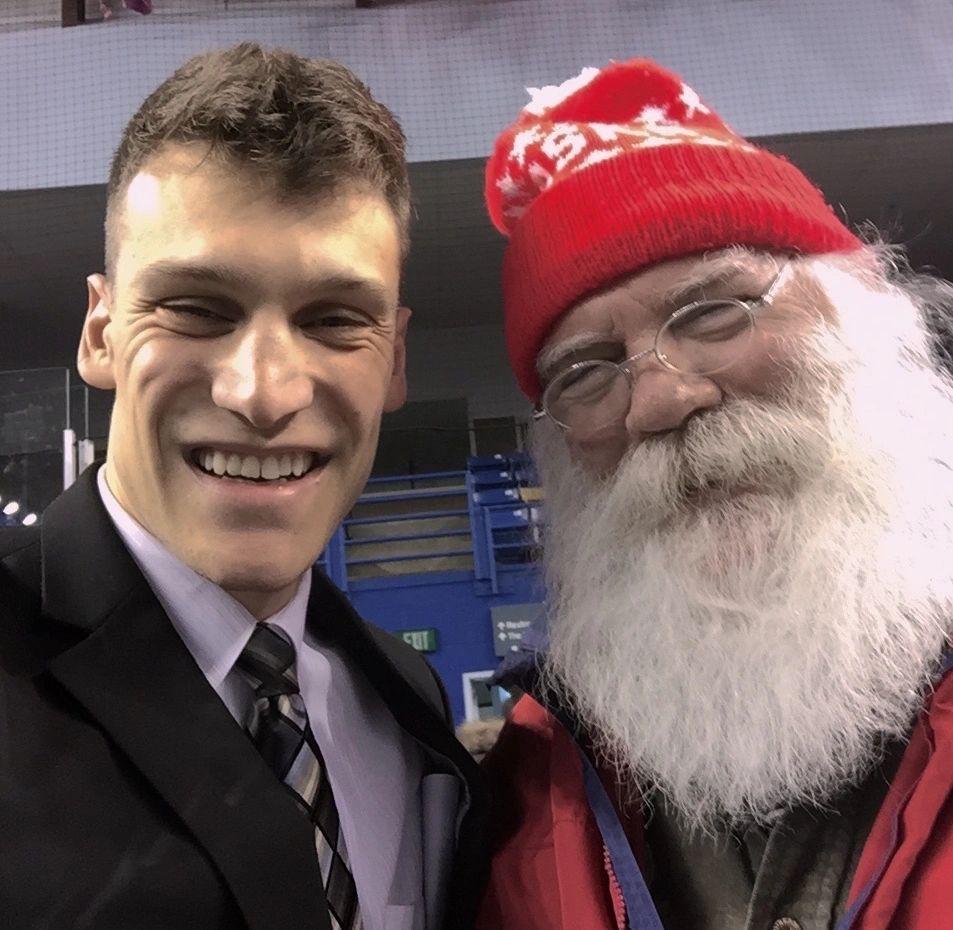 Santa Claus Endorses Forrest Dunbar for Mayor