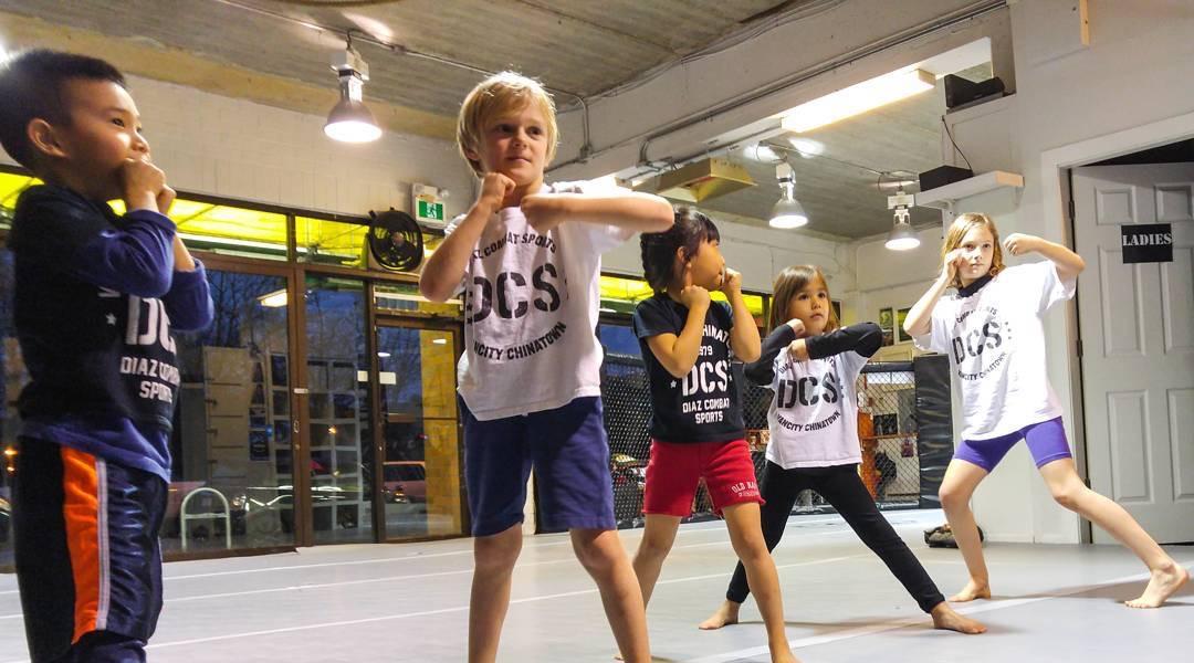 Kids kickboxing classes Vancouver
