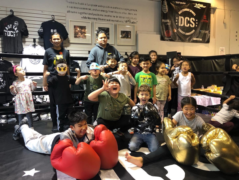 Kids kickboxing Vancouver is fun