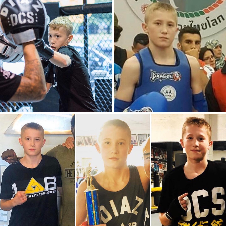 Child kickboxing champion Vancouver