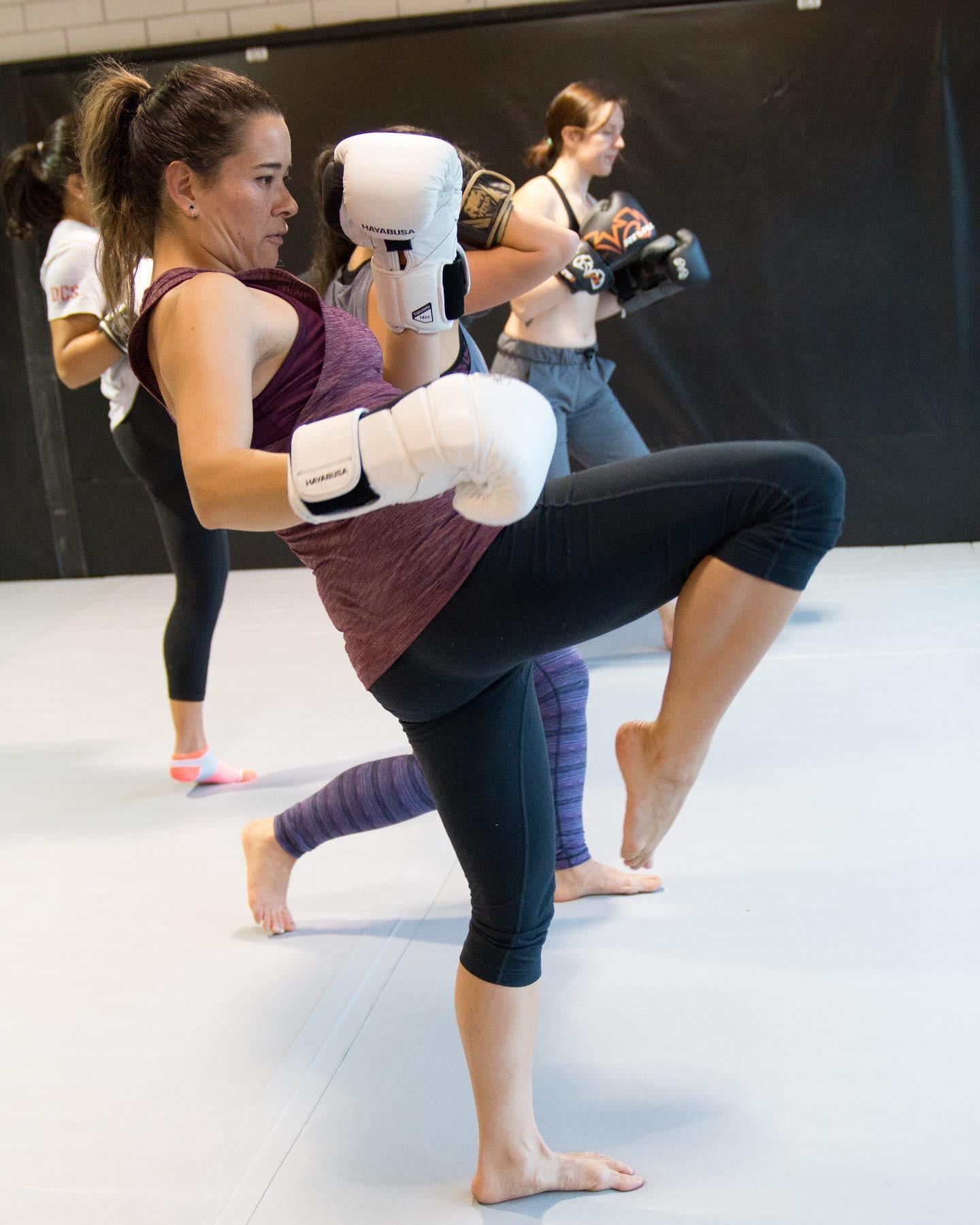 Vancouver Kickboxing class