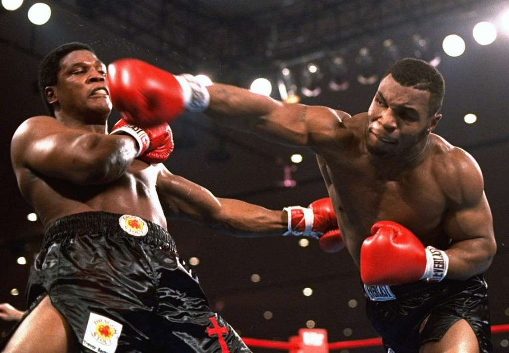 Tyson power punching boxing Vancouver