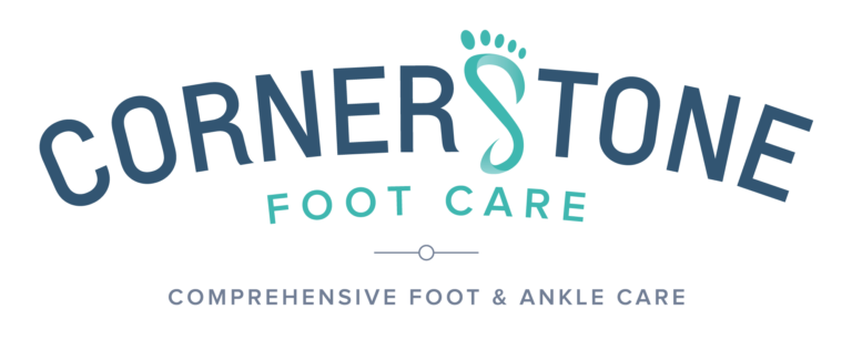Cornerstone Footcare Logo Comprehensive Foot and Ankle Care