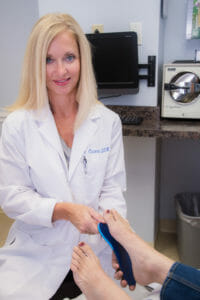 Dr. Kimberly Ciccero Treating Patient