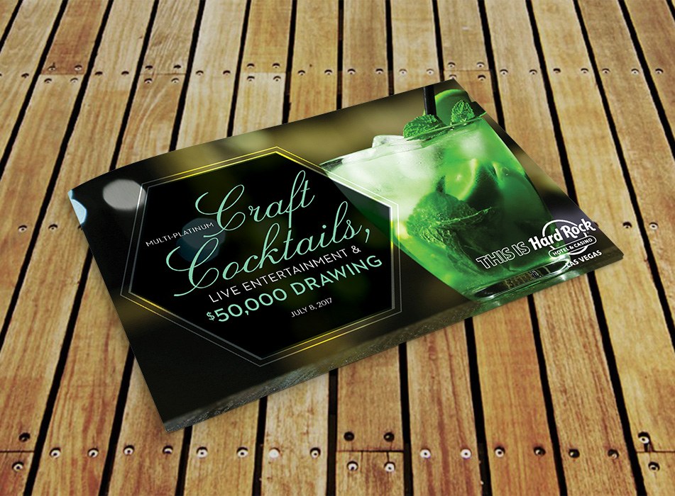 Craft Cocktails Brochure - Portfolio