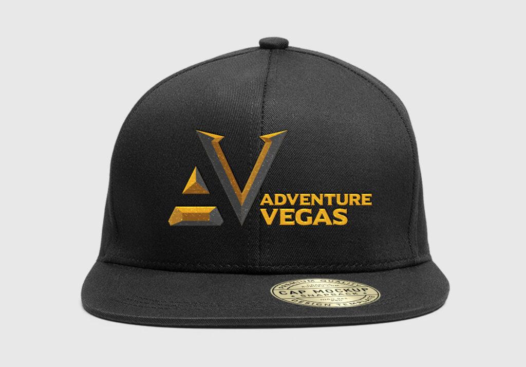 Adventure Vegas Logo Design