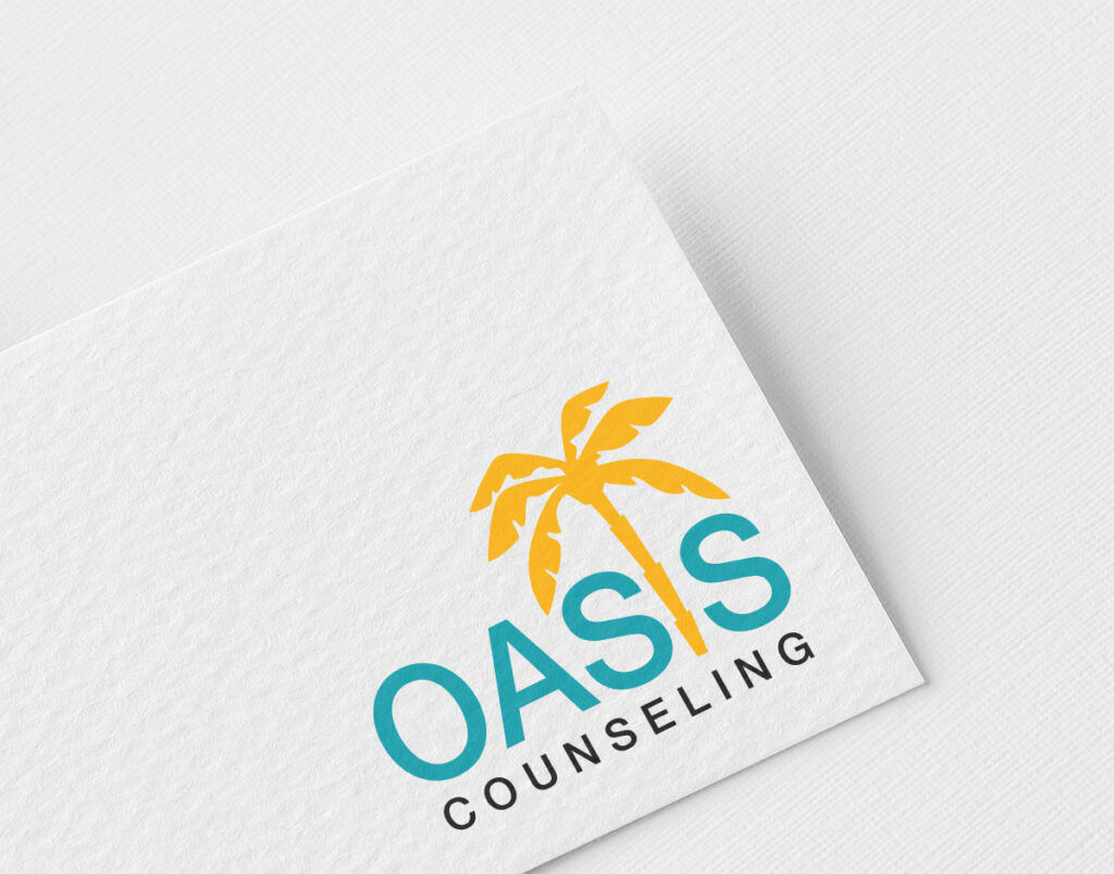 Oasis Counseling Logo Design