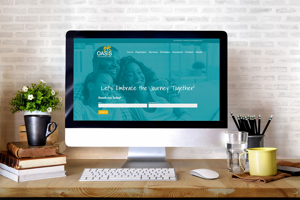 Oasis Counseling Website Design