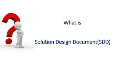 The Purpose of The Solution Design Document
