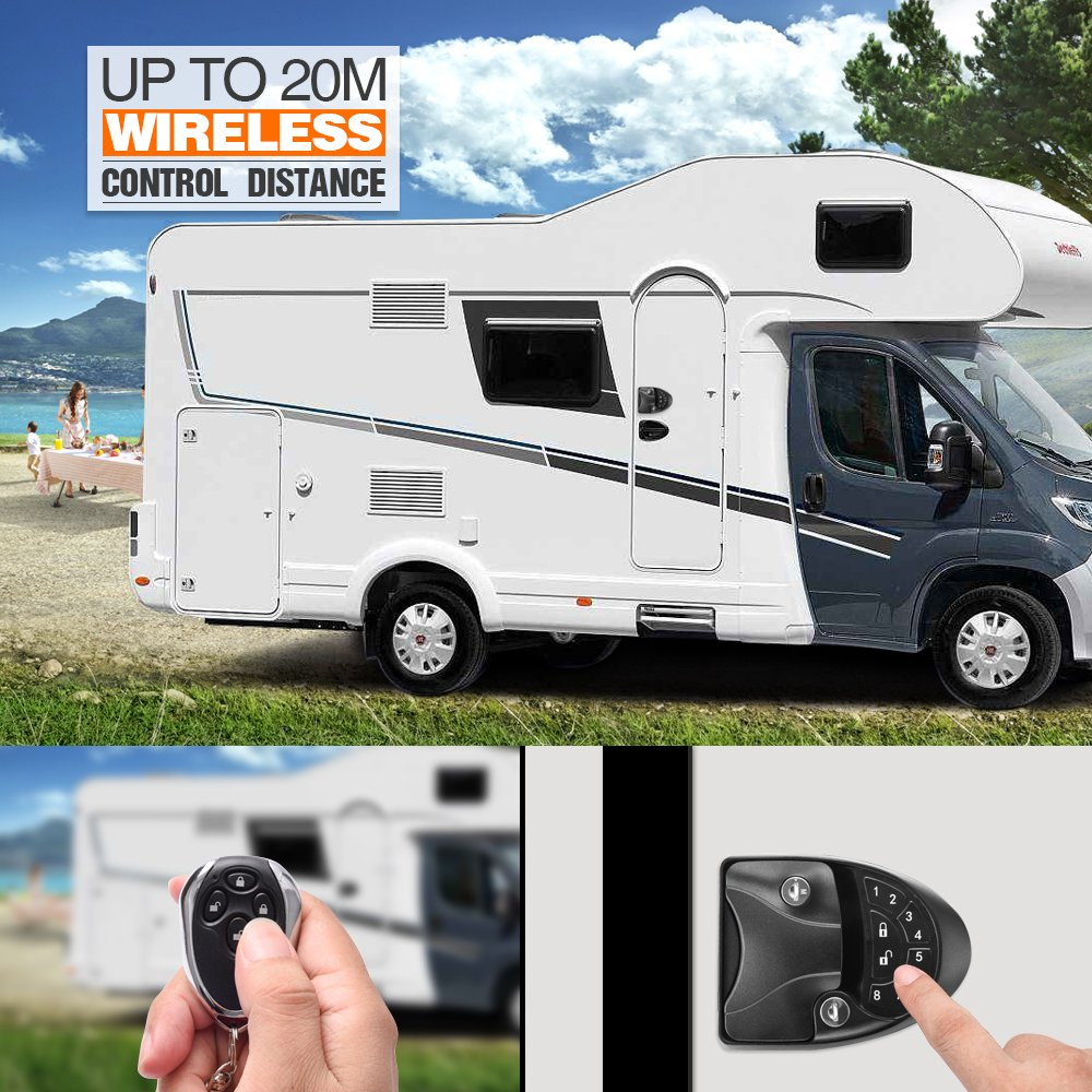 Keyless Entry For Your Skoolie