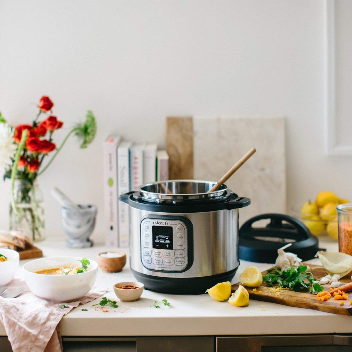 Cooking on the Road with the Instant Pot