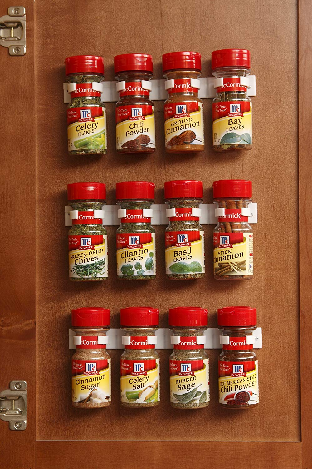 No More Spilled Spices in Your RV