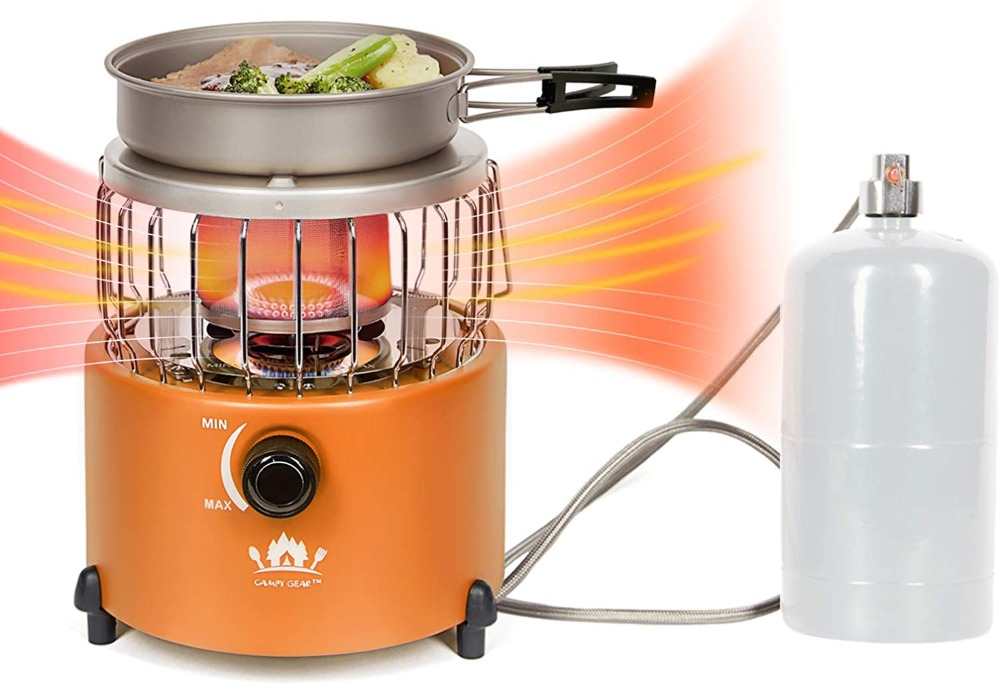 2 in 1 Camping Stove and Heater
