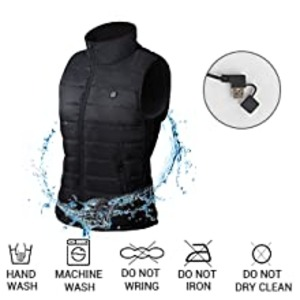 Heated Vest for Additional Warmth