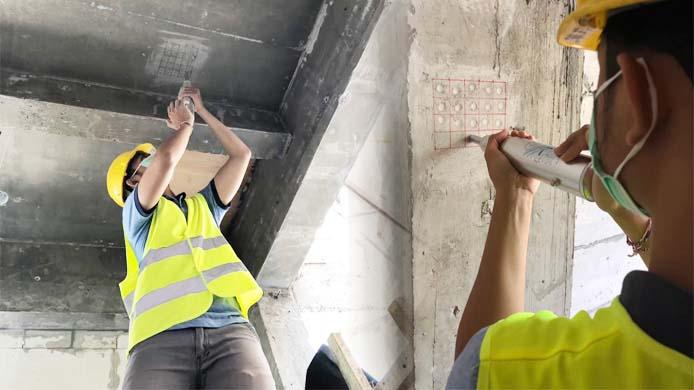 Concrete Hammer Test