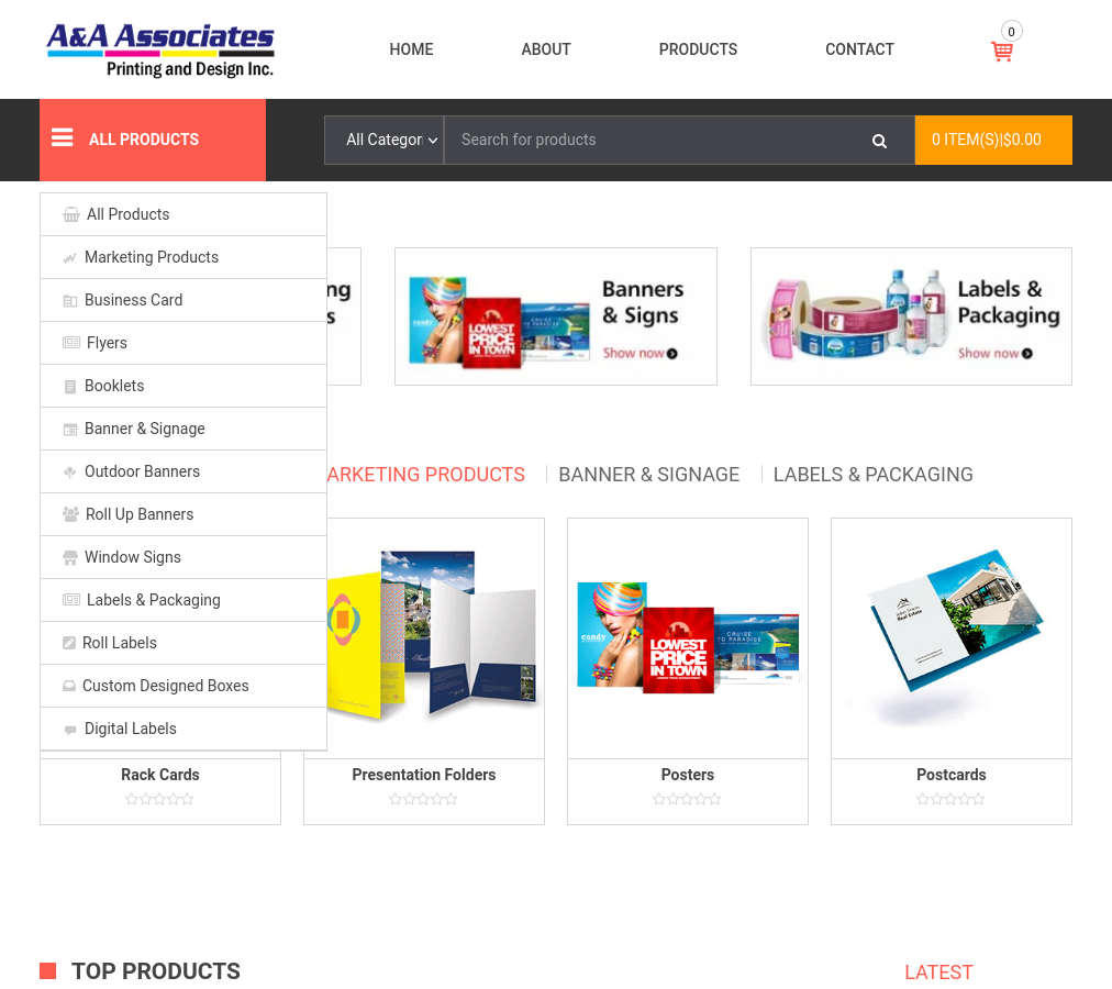A&A Associates Printing Press | Labels, Signs & Windsor ON
