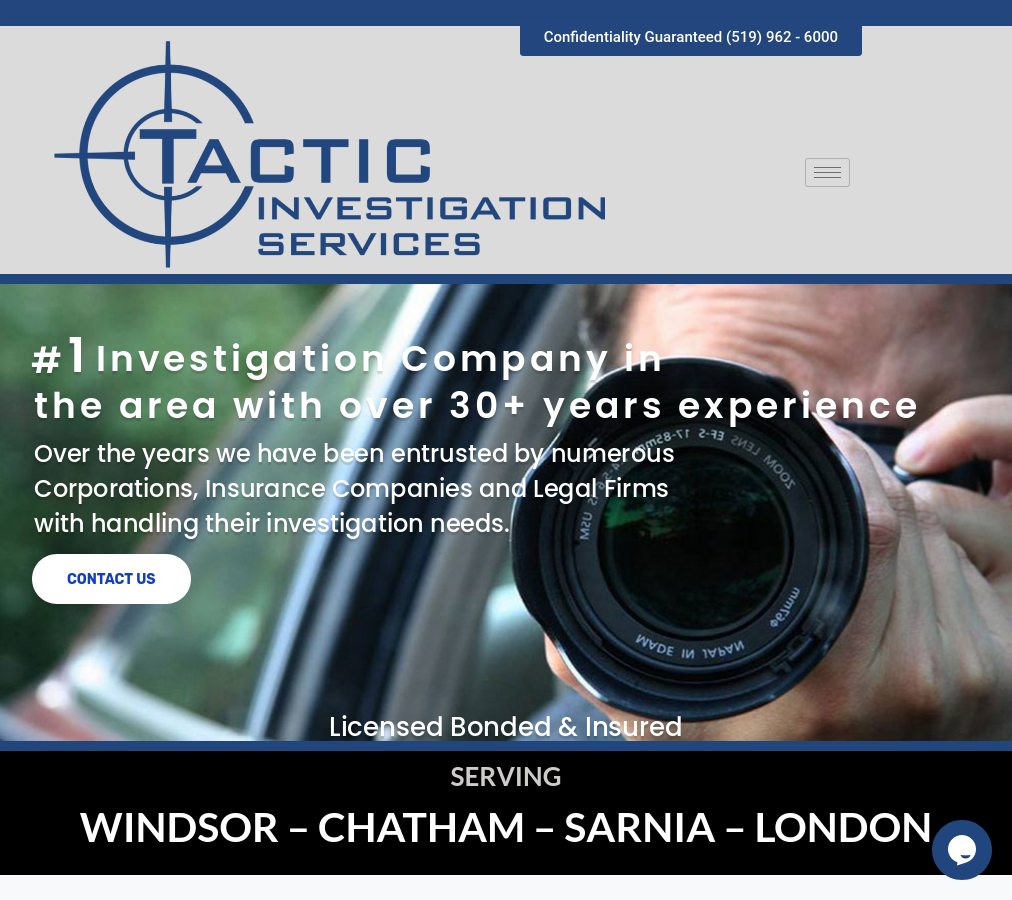 Tactic Investigation
