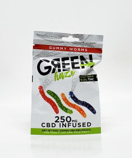 GUMMY WORMS Green Haze Image