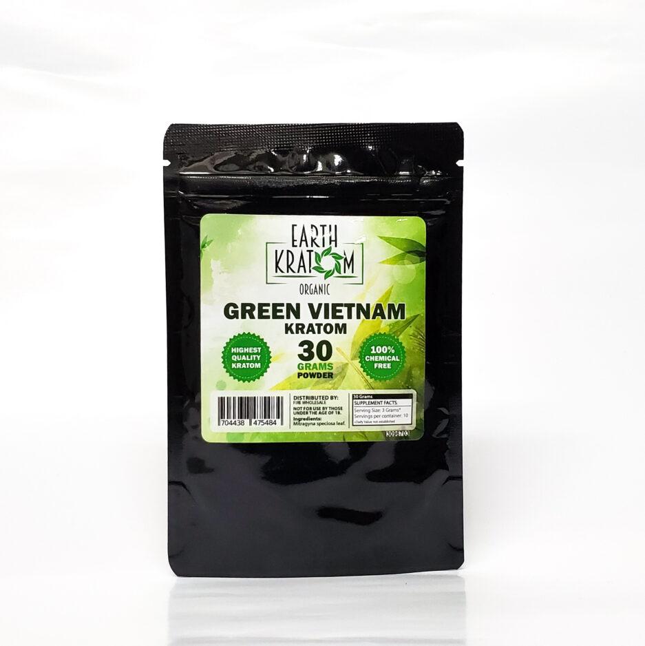Earth Kratom Green Vietnam Powder Image