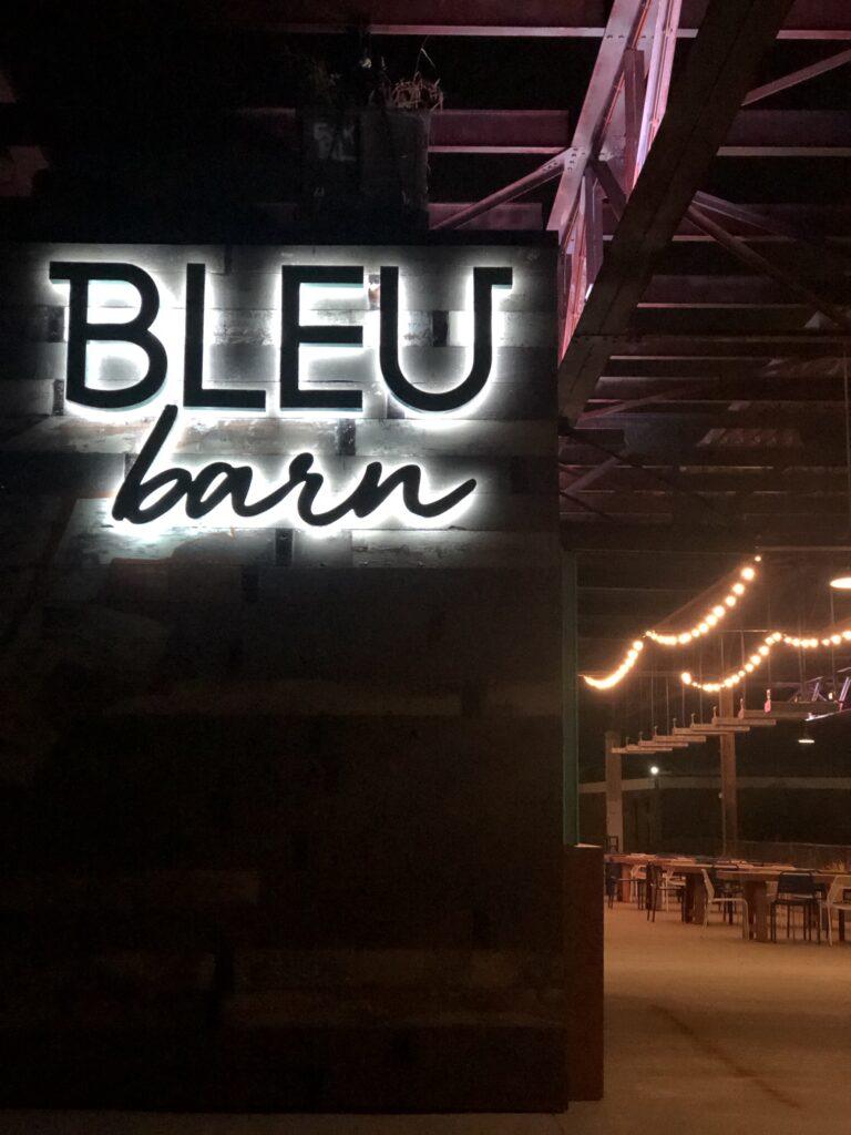 Bleu Barn Light