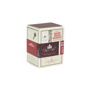 H&S Tea Wrapped Sachet 6x20 Organic English Breakfast