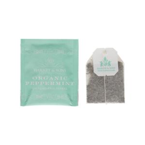 - H&S Tea Wrapped Sachet 6x50 Organic Peppermint