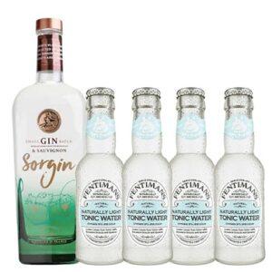 Sorgin & 4 bottles Fentimans