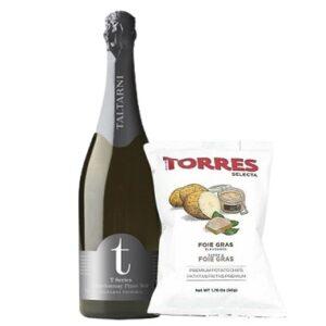 Taltarni T-Series Brut NV & Torres Selecta Foie Gras