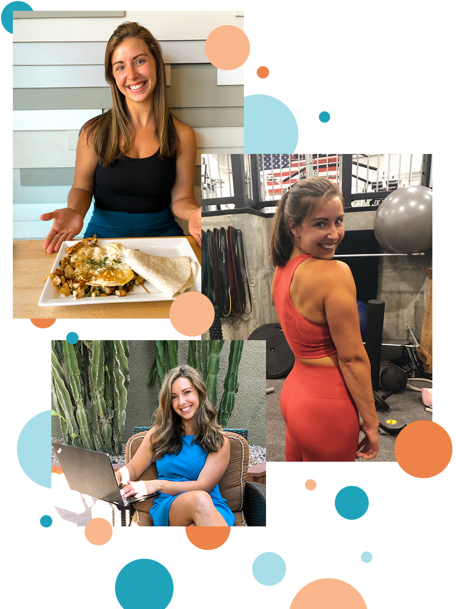Kelsey Hojara, registered dietitian and fitness coach
